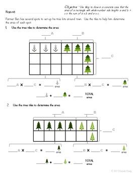 Area Performance Task ~Tree Lot~