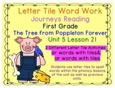 The Tree from Poppleton Forever 1st Grade Reading Unit 5 Lesson 21  Letter Tiles