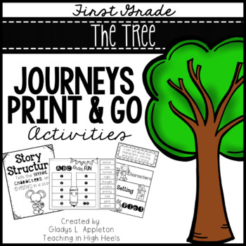 The Tree from Poppleton Forever Journeys 1st Grade Print and Go Activities