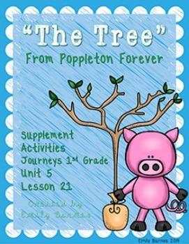 The Tree from Poppleton Forever Journeys 1st Grade Supplement Materials