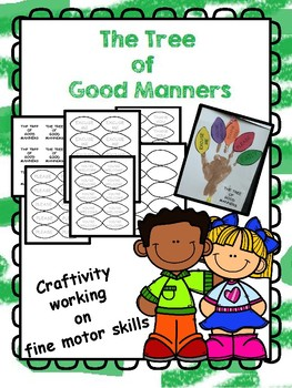 The Tree of Good Manners Craftivity