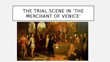 The Trial Scene in 'The Merchant of Venice'