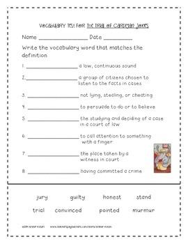 The Trial of Cardigan Jones Activities 3rd Grade Journeys Unit 1, Lesson 2