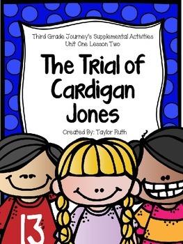 The Trial of Cardigan Jones Journey's Supplemental Activit