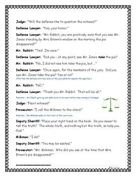 The Trial of Cardigan Jones PLAY