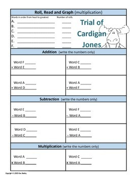 The Trial of Cardigan Jones Roll Read Graph