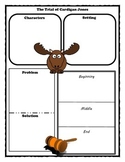 The Trial of Cardigan Jones Story Map Graphic Organizer