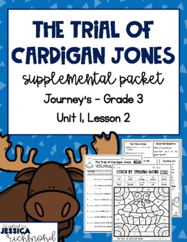 The Trial of Cardigan Jones - Supplemental Packet