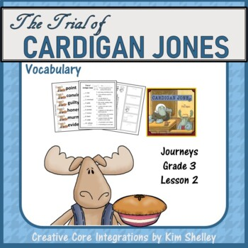 The Trial of Cardigan Jones Vocabulary