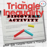 The Triangle Inequality Discovery Activity