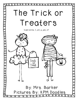 The Trick or Treaters {An Emergent Reader}