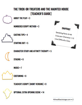 The Trick-or-Treaters and the Haunted House - Teacher's Guide