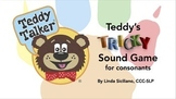 Teddy's Tricky Sound Game for Consonants - PowerPoint and
