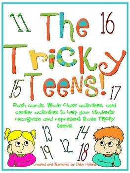 The Tricky Teens- representing and recognizing the teen numbers!