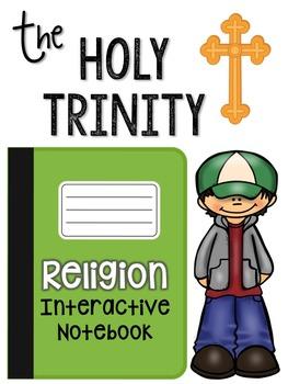 The Trinity: Religion Interactive Notebook Freebie