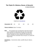 The Triple R's (Reduce, Reuse, and Recycle) - Small Group Reader's Theater