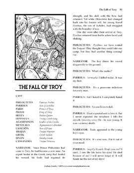 The Trojan War: A Collection of Reader's Theater Script-Stories
