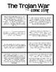The Trojan War Comic Strip Activity (Ancient Greece Lesson Plan)