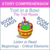 The Troll Reads - Story Comprehension Activity