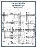 True Confessions of Charlotte Doyle—Prereading Vocab Crossword—Great Prep!