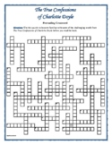 True Confessions of Charlotte Doyle: 50-Word Prereading Crossword—Great Warm-Up!