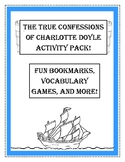 The True Confessions of Charlotte Doyle Activities! Bookma