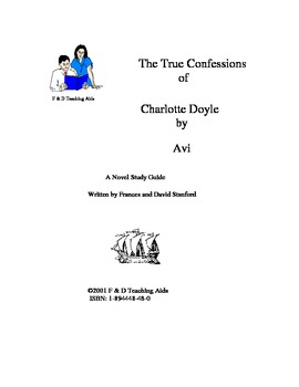 The True Confessions of Charlotte Doyle Novel Study Guide