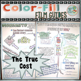 The True Cost Colorfill Film Guide Doodle Notes