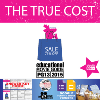 The True Cost Movie Guide (PG13 - 2015) Documentary