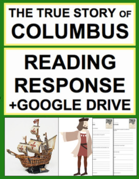 The True Story of Columbus Nonfiction Text Questions, Answer Key + Google Doc