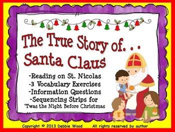 Christmas:  The True Story of Santa Claus/ St. Nicholas