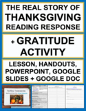 Thanksgiving: The True Story: QR Code Fun!
