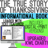 The True Story of Thanksgiving Book - Digital & Print