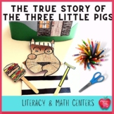 The True Story of The Three Little Pigs Worksheets