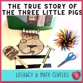 The True Story of The Three Little Pigs Creative Writing A