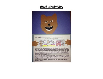 The True Story of the 3 Little Pigs -Activity Pack & Craftivity!