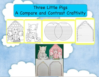 The True Story of the 3 Little Pigs Compare and Contrast Activity