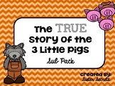 The True Story of the 3 Little Pigs Emergency Sub Plans
