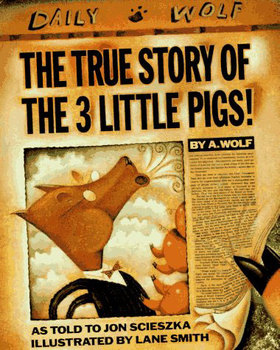 The True Story of the 3 Little Pigs - Sequencing / Retelling