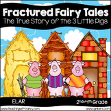 The True Story of the 3 Little Pigs and the Big Bad Wolf:
