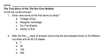 The True Story of the Internet: The Dot Com Bubble