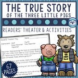 The True Story of the Three Little Pigs Readers Theater Activity Pack