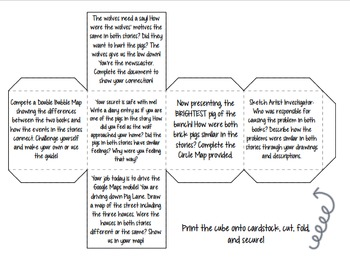 The True Story of the Three Little Pigs: Differentiated Compare & Contrast