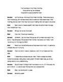 The True Story of the Three Little Pigs - Duet Acting Script
