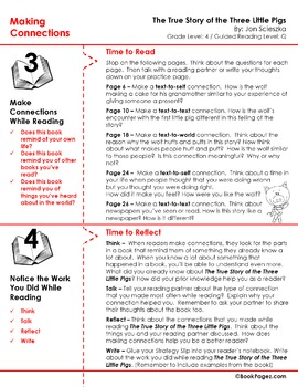 The True Story of the Three Little Pigs Lesson Plans & Activities Package (CCSS)