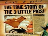 The True Story of the Three Little Pigs PowerPoint
