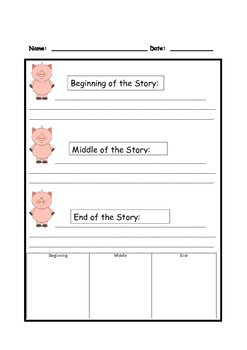The True Story of the Three Little Pigs, Reader's Theater, Common core aligned