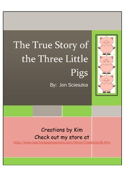 The True Story of the Three Little Pigs, Reader's Theater,