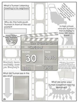 The Truman Show Color-Fill Film Guide