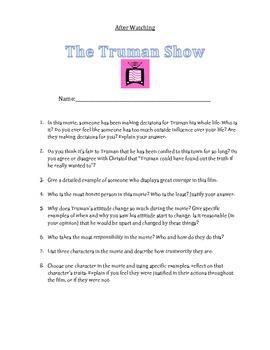 The Truman Show Film Study
